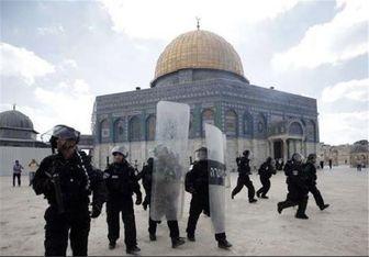 صهیونیست ها دوباره به مسجد الاقصی حمله ور شدند