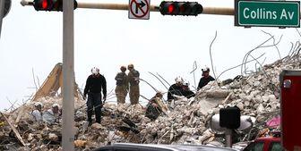 کشف 64 جسد از میان آوارهای ساختمان فلوریدا