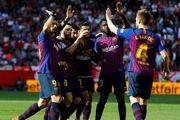 پایان طلسم بدشانسی برای بارسا در لیگ قهرمانان
