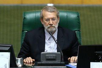 لاریجانی جواب قاضی پور را داد
