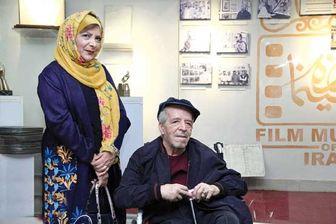 تصویری ناراحت کننده از زوج قدیمی سینمای ایران