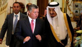 """نگاه نگران ملک عبدالله به پل """"ملک سلمان"""""""
