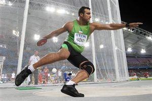 بهترین رکورد حدادی بعد از المپیک
