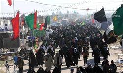 اولین کاروان پیادهروی اربعین حسینی به راه افتاد