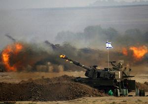 غزه بمباران شد