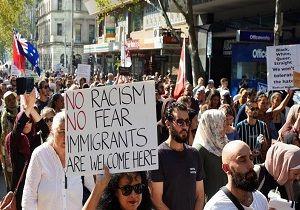 اعلام همبستگی مردم ملبورن با مسلمانان