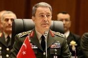 تمجید وزیر دفاع ترکیه از اقدامات مصر