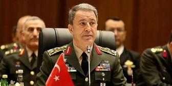 اتهام زنی وزیر دفاع ترکیه به یونان