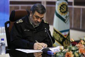 پیام سردار اشتری به فرمانده کل سپاه