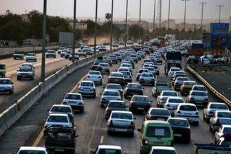 ترافیک سنگین و پرحجم به سمت تهران
