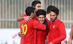 برتری تیم ملی زیر ۲۲ سال ایران مقابل کرهجنوبی
