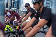 سرگرمی جالب امیر قطر