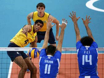 Brazil, Russia ease into volleyball final
