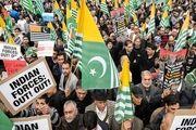 راهپیمایی خبرنگاران پاکستانی به سمت مرز کشمیر