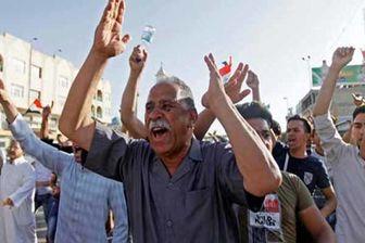 برگزاری تظاهرات مسالمت آمیز در شمال بغداد
