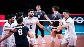 لیگ ملتهای والیبال/پخش زنده والیبال ایران - آمریکا