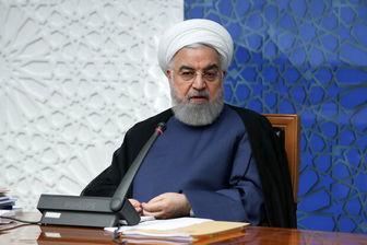 روحانی: امیدواریم دولت آمریکا به مسیر عقلانیت و قانون برگردد