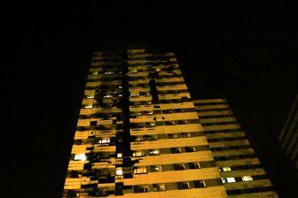 آتش سوزی در برج 22 طبقه پامچال+جزئیات
