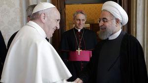 روحانی به پاپ فرانسیس پیام تبریک داد