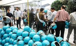 توزیع بیش از 2 هزار کلاه ایمنی در بین موتورسواران روستایی کردستان