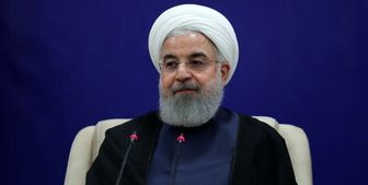 پیام تبریک روحانی به خانم شیخ حسینه واجد