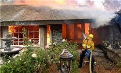 آتش سوزیهای مرگبار در شمال کالیفرنیا+تصاویر
