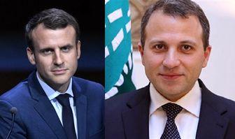 دیدار وزیر خارجه لبنان با رئیس جمهور فرانسه