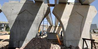 عملیات مقاوم سازی پل تقاطع غیرهمسطح بزرگراه امام علی به پایان رسید