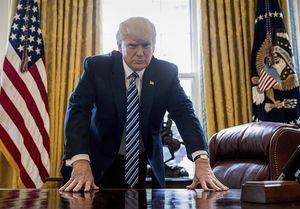 ترامپ، دیوانهای پشت نقاب+عکس