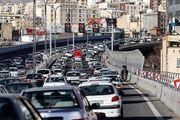 وضعیت ترافیکی امروز خیابان های پایتخت