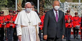 دیدار رئیسجمهور عراق با پاپ فرانسیس