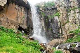آبشاری بِکر و زیبا در اردبیل/ عکس