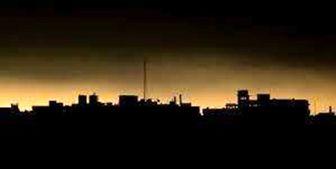 قطع برق در مناطق گستردهای از فلسطین