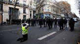 درگیری پلیس با مخالفان دولت در روز ملی فرانسه