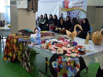 بانوان میاندوآبی، جشنواره صنایع دستی برگزار کردند + تصاویر