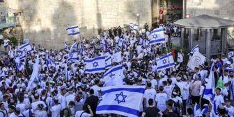 صهیونیستها در راهپیمایی پرچم بنت را خائن نامیدند