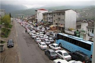 محدودیتهای ترافیکی در جاده های مازندران