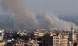 دمشق با خمپاره هدف قرار گرفت