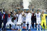 رنکینگ جدید تیم ملی فوتسال ایران در رده بندی جهانی