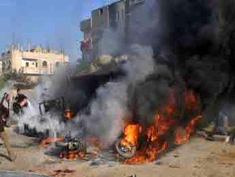 ۲۱شهید در تجاوزات جدید اسرائیل به غزه