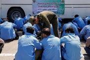 بازداشت موادفروشان تهرانی/ گزارش تصویری