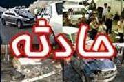 واژگونی اتوبوس زائران جمکران