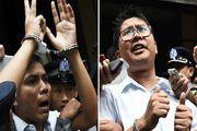 میانمار دو خبرنگار رویترز را پس از ۵۰۰ روز حبس آزاد کرد