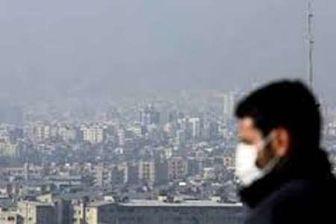 بحرانی تر شدن هوای تهران +عکس