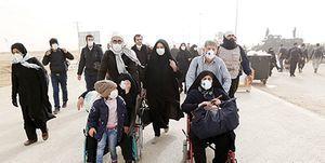 تلاش مرزبانان ایران و عراق بر تأمین امنیت زائران اربعین