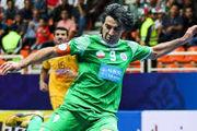 آرزوی شمسایی برای تیم ملی فوتسال