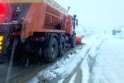 امدادرسانی نیروهای هلال احمر در ۷ استان متأثر از برف و کولاک