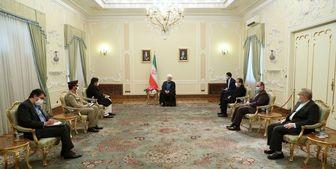 تأکید روحانی بر ضرورت اجرایی شدن توافقات ایران و پاکستان