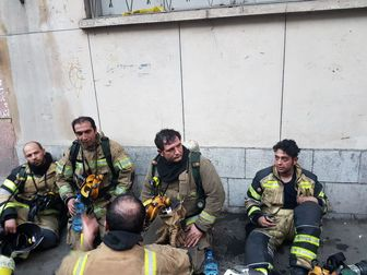 اتفاق عجیب در محل حادثه آتش سوزی