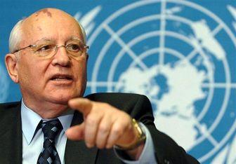 """تحلیل """"گورباچف"""" از حمله غرب به سوریه"""